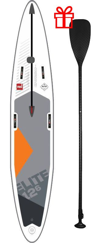 red paddle co 126 elite napihljiva sup deska alu veslo